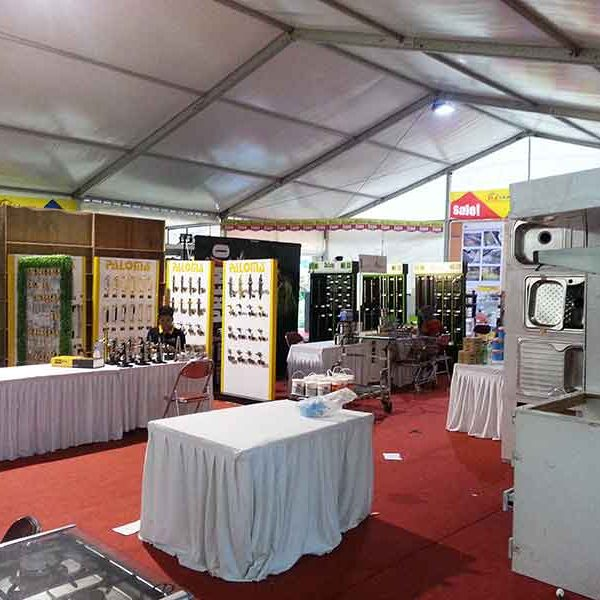 Event Expo dalam Tenda Roder