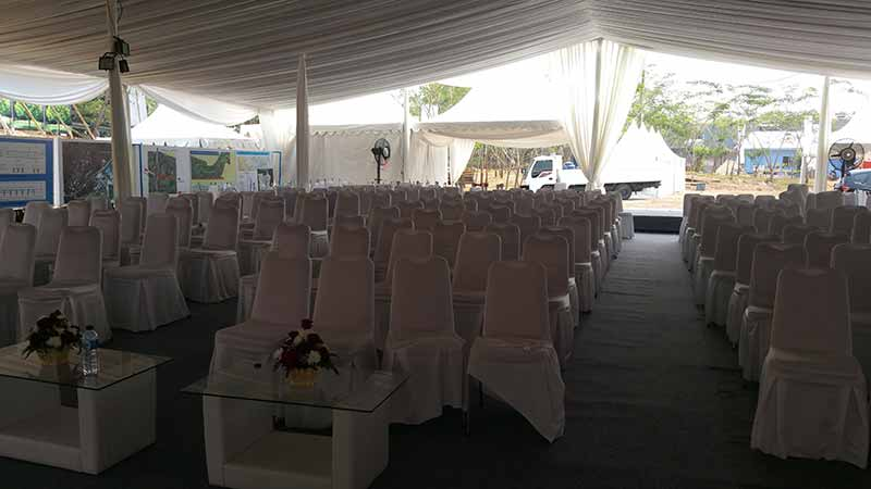 Dekorasi Tenda VIP