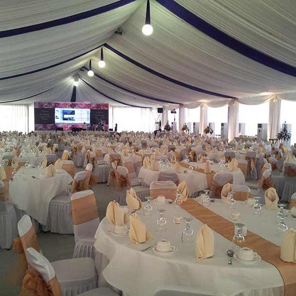 Dekorasi VIP Tenda Roder