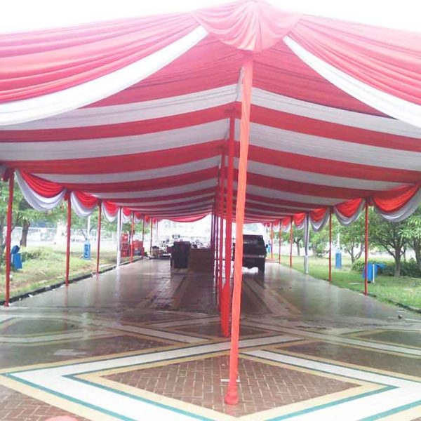 Tenda Dekor Terbuka