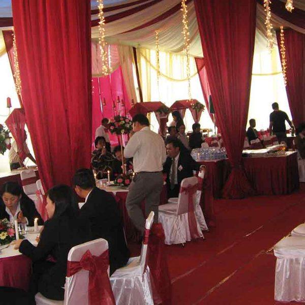 Dekorasi Tenda Pesta VIP