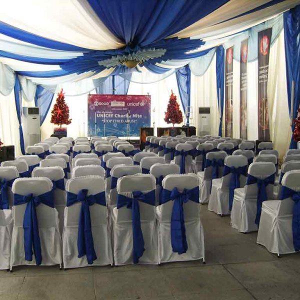 Tenda Pesta VIP Tertutup