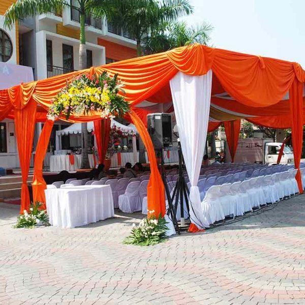 Tenda Pesta Dekorasi VIP