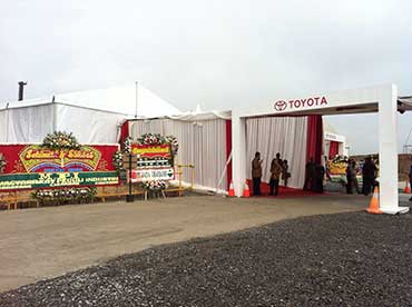 Ground Breaking Pabrik Toyota