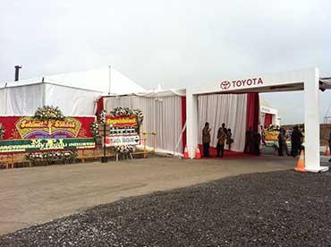 Ground Breaking Pabrik Toyota